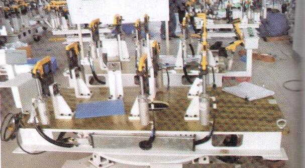 广州汽车焊接夹具图片|广州汽车焊接夹具产品图片由