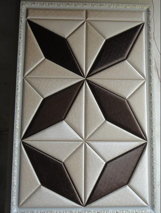 壁纸硬包不锈钢边框