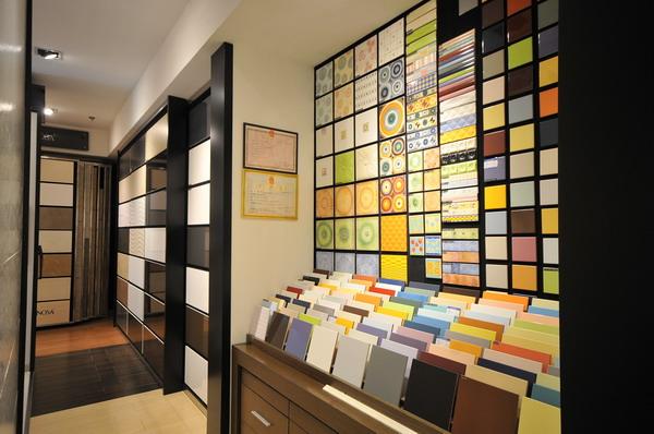 瓷砖创意展厅设计