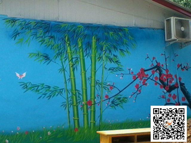 公司采用最优质的绿色环保墙绘手绘材料,根据您的实际需求结合设计师