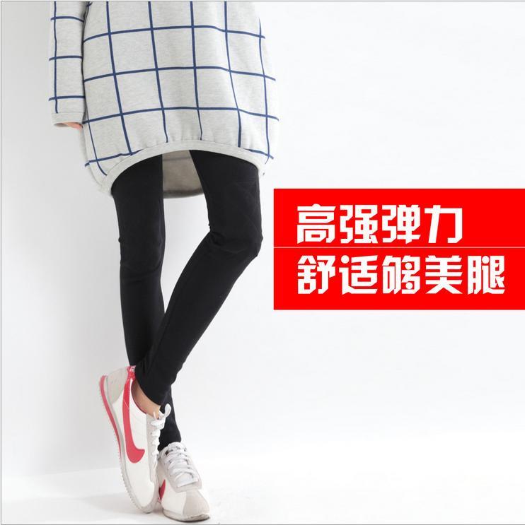 2014新款春加绒打底裤好质量厂家直销打底裤批发保正不起球不起皱