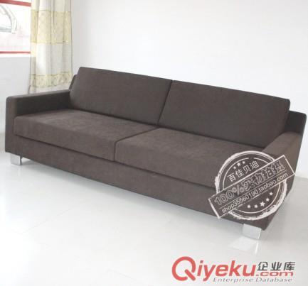 供应咖啡色布艺沙发(图)