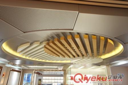 木纹铝方通吊顶图片|木纹铝方通吊顶产品图片由广州