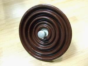 棕色悬式绝缘子/悬式瓷瓶/XP-70/XP-70C