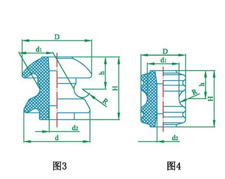低压线轴瓷瓶绝缘子EX-1,EX-2,EX-3,EX-4