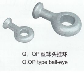 球头挂环Q-7,QP-7,QP-10,QP-12,QP-12G,QP-16,QP-16G,QP-20,QP-21D,QP-30,QP-2120G,QP-3224