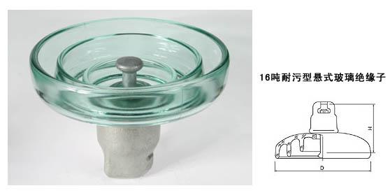 玻璃绝缘子LXHY-160,LXHP-160,FC160P,U160BP