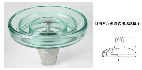 玻璃绝缘子LXHY-120,LXHP-120,FC120P,U120BP