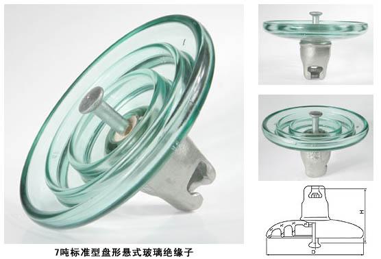 玻璃绝缘子LXY-70,LXP-70,FC70/146,U70B/146