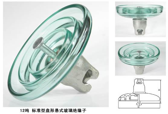 玻璃绝缘子LXY-120,LXP-120,FC120,U120B/146