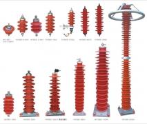 复合外套避雷器的典型技术参数表