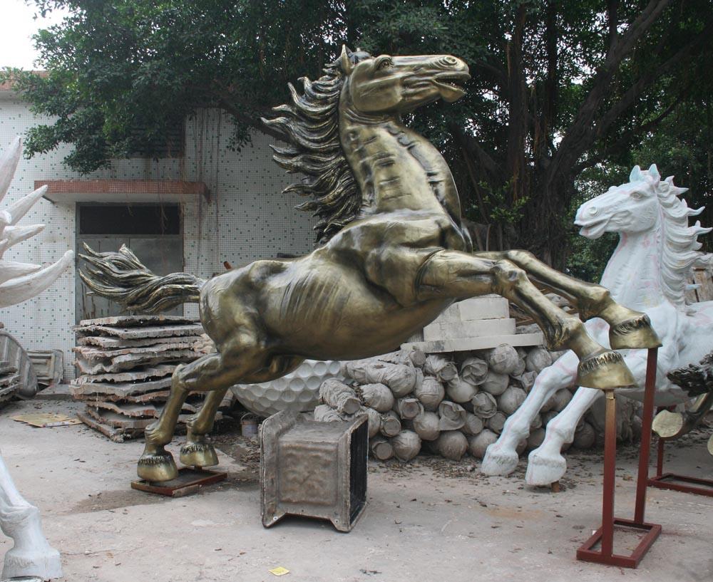 广州雕塑,砂岩雕塑 艺术摆件马雕塑 砂雕石雕 (图)
