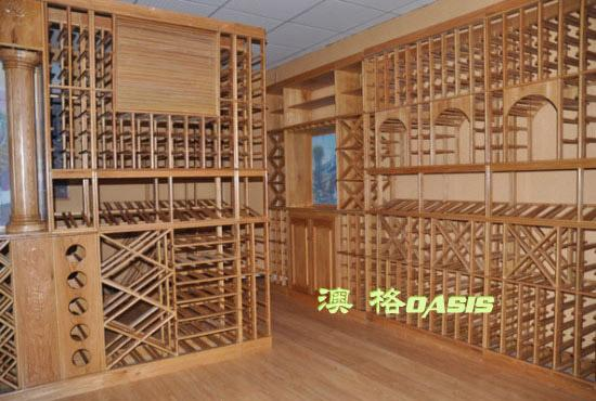 上海橡木桶红酒柜定做厂家