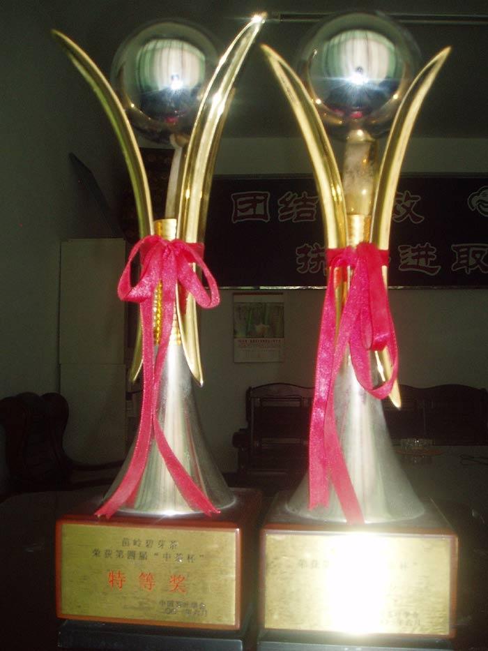 榮獲第四屆'中茶杯'二等獎