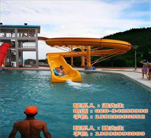 水上乐园设备组合水滑梯