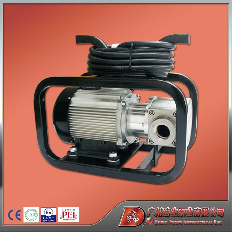 迪生品牌 油类通用高级防爆不锈钢化工泵 转子泵 小型吸油泵