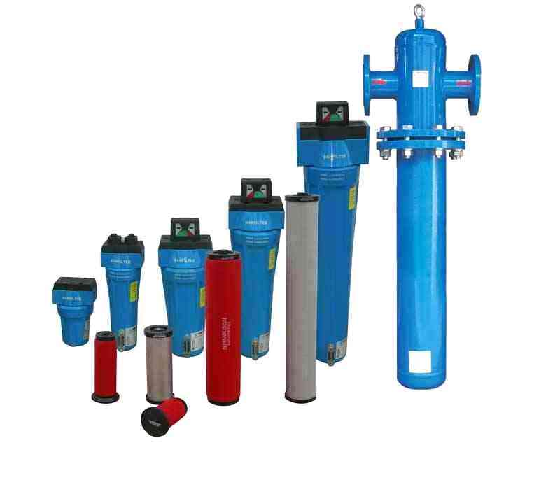 压缩空气过滤器 经空气压缩机做机械功使本身体积缩小,压力提高后的空气叫压缩空气。压缩空气是一种重要的动力源,与其它能源比,它具有容易输送,使用方便,且压缩空气主要来自地面大气,取之容易,用之不尽。 2、什么是空气的标准状态? 在温度20,相对温度65%时的空气状态叫空气的标准状态,在标准状态下,空气密度是1.