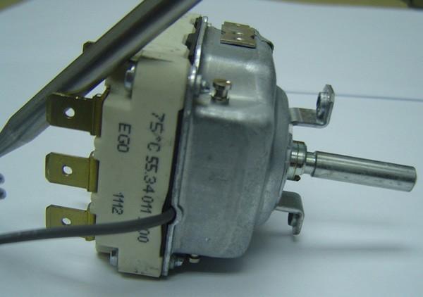 德国热水器专用75度ego液涨式温控器,55.34011.