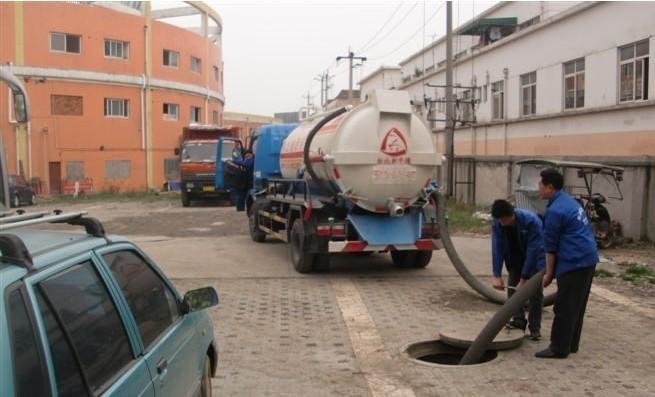 小榄清洁公司,高压车疏通下水道