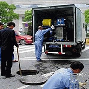 清理油池污水