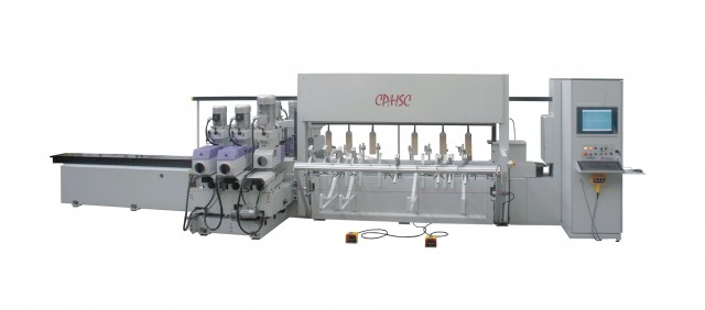 CNC直线铣型砂光加工中心