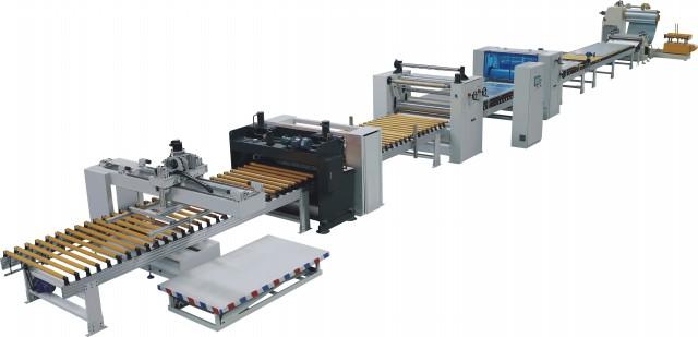 钢材覆膜生产线TMD