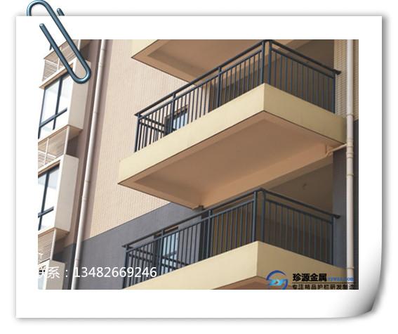 高层阳台防护栏图片_
