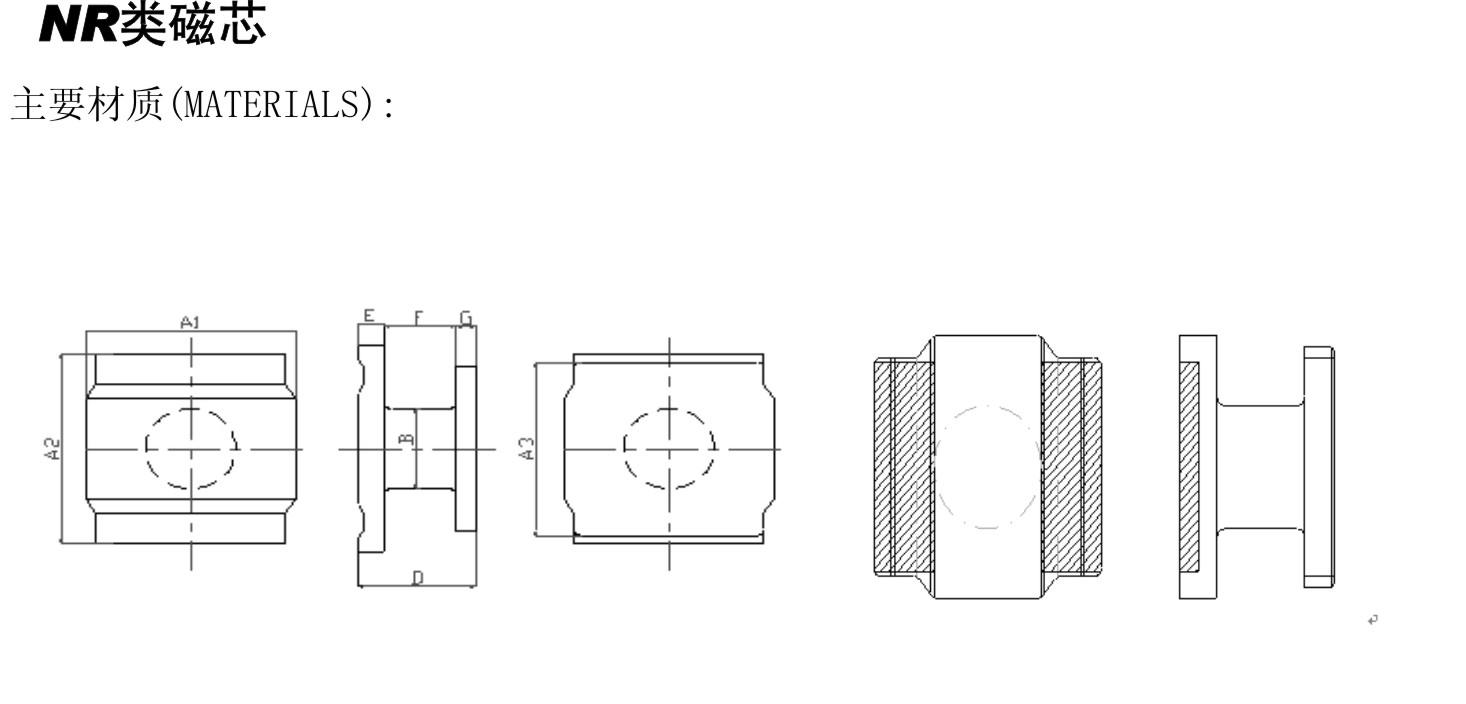 NR类磁芯