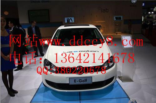 大众电动汽车 高尔夫ev 电动轿车 都市时尚电高清图片