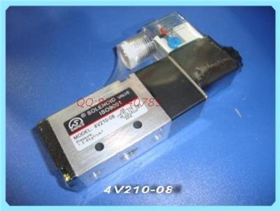 4v210-08二位五通电磁阀.气控阀.手动阀图片