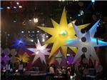 广州气模厂家充气透明LED发光PVC/TPU活动广告球