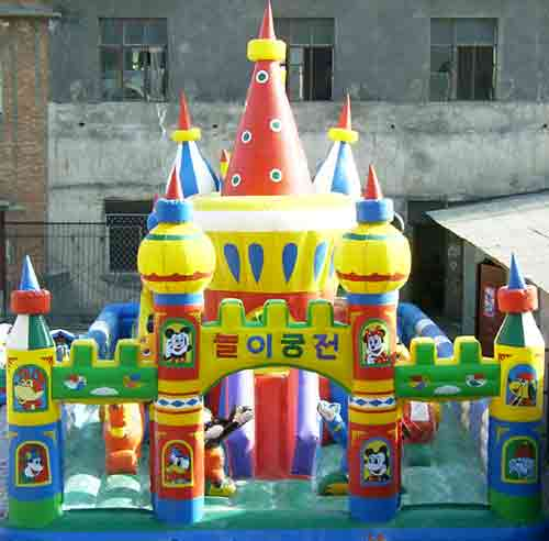 兒童王子公主主題性充氣城堡圖片|兒童王子公主主題