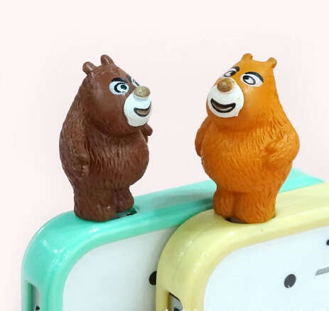 卡通手机防尘塞  大熊二熊