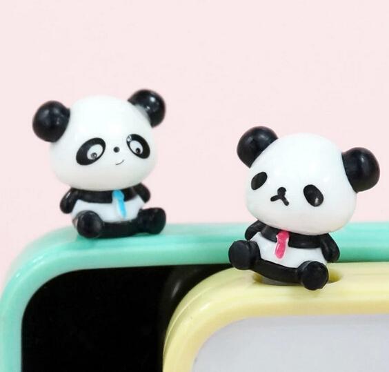 卡通手机防尘塞 卡通小熊猫