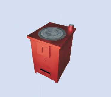 大油桶制作柴火灶