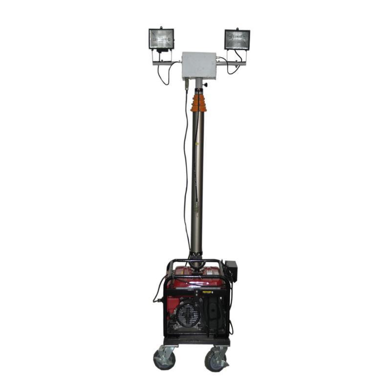 SFW6110E全方位遥控自动升降工作灯、大功率照明车