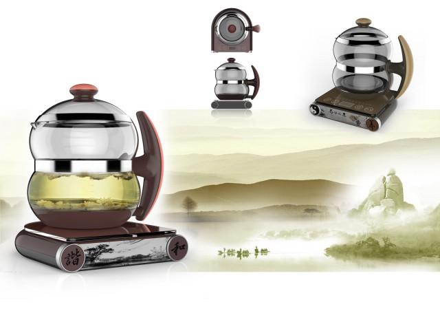養生壺工業設計