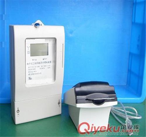 主要结构和工作原理   电能表的电子元器件都安装在印制板(pcb
