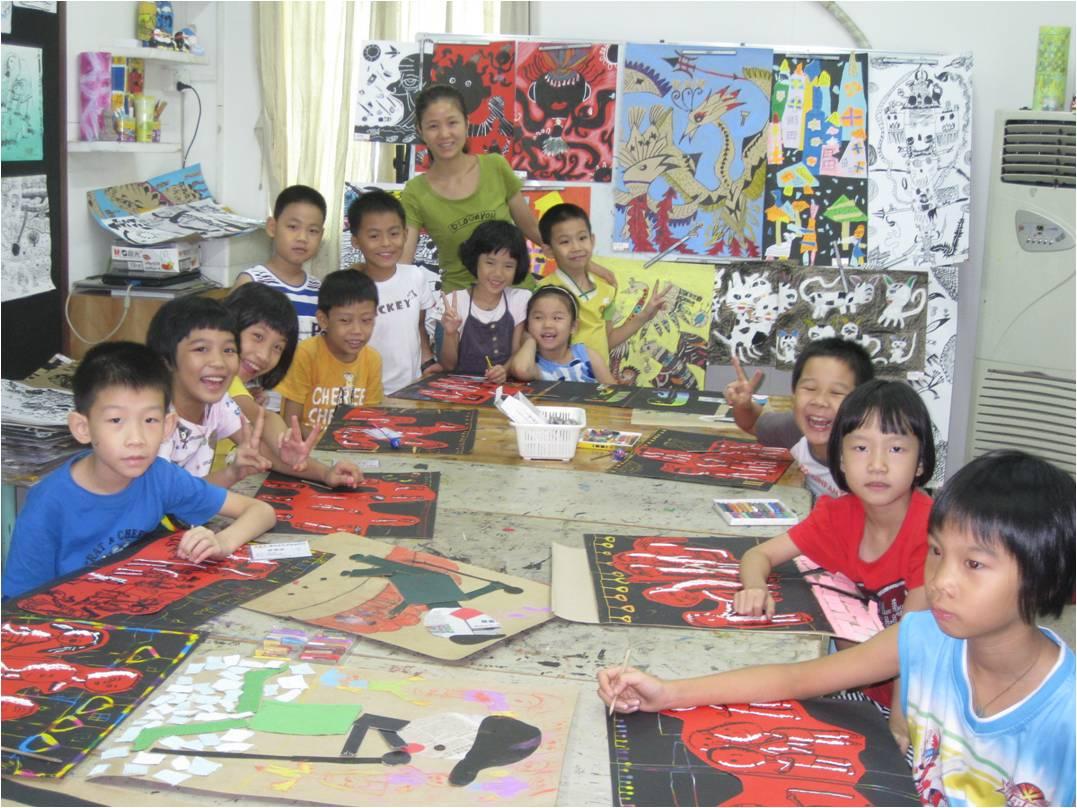 广州塔小学生绘画