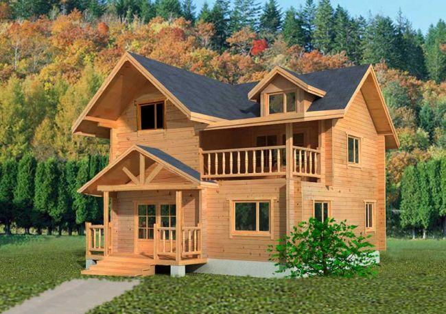 简易木屋设计图