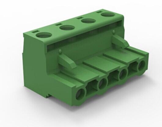 直针 KF2EDGK 接线端子 脚距5.08MM 拔插式 300V/15A