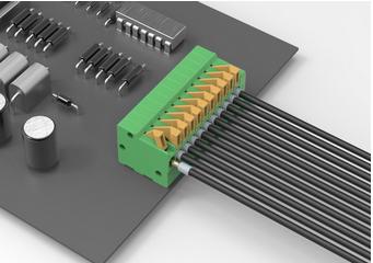 品质DA141R连接器 智能系统专用端子台 低价接线柱 快速拆开接线