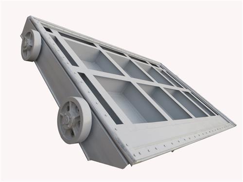 璃钢浮箱拍门 新河县万源水利机械厂 是从事水工机械启闭机、闸门、