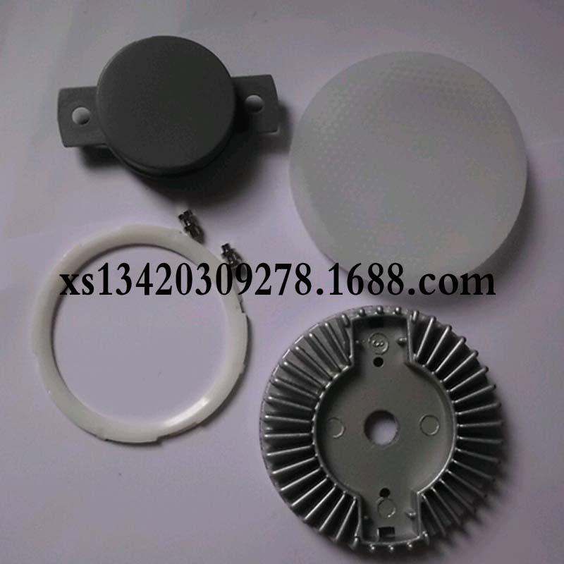 GX53压铸铝外壳灯座 现货供应 低价再现