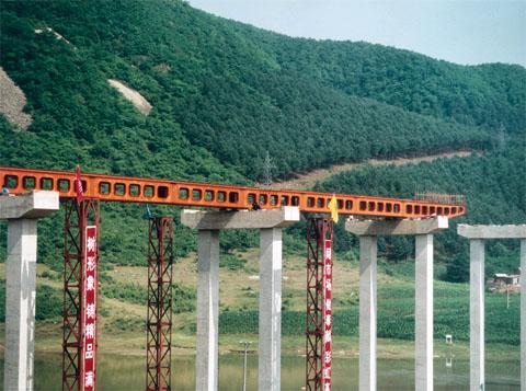 联合架桥机图片|联合架桥机产品图片由中原圣起工业